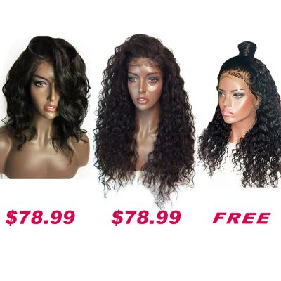 USA Stock Buy 2 Get 1 Free Curly Wigs On Pack PWSF470