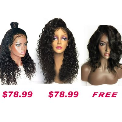 USA Stock Buy 2 Get 1 Free Curly Wigs Sale On Pack PWSF471