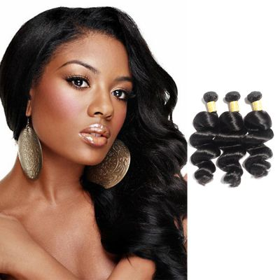 USA Stock Virgin Indian Loose Wavy Hair 3 Bundles